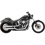SILENCIEUX VANCE & HINES TWIN SLASH POUR SOFTAIL BLACKLINE 11/13