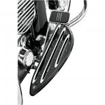 REPOSE PIEDS EN ALUMINIUM USINE ET POLI ARLEN NESS POUR FLT/FLHT/FLHR/HD FL ET TRIKE DE 84/11