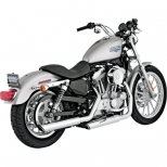 POT VANCE&HINES TWIN SLASH CHROME SPORTSTER 04/13