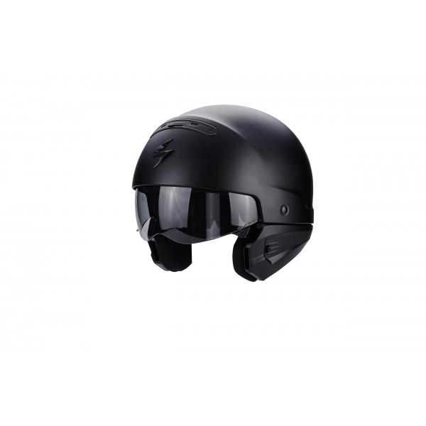 casque scorpion exo combat noir mat custom paradise. Black Bedroom Furniture Sets. Home Design Ideas