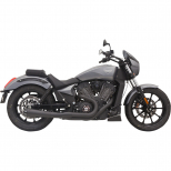 BASSANI XHAUST SHORT ROAD RAGE MEGAPHONE 2 INTO 1 BLACK